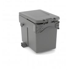 UNIONPLAST odpadkový koš SINGLE DUMPSTER - 15l H295mm antracit